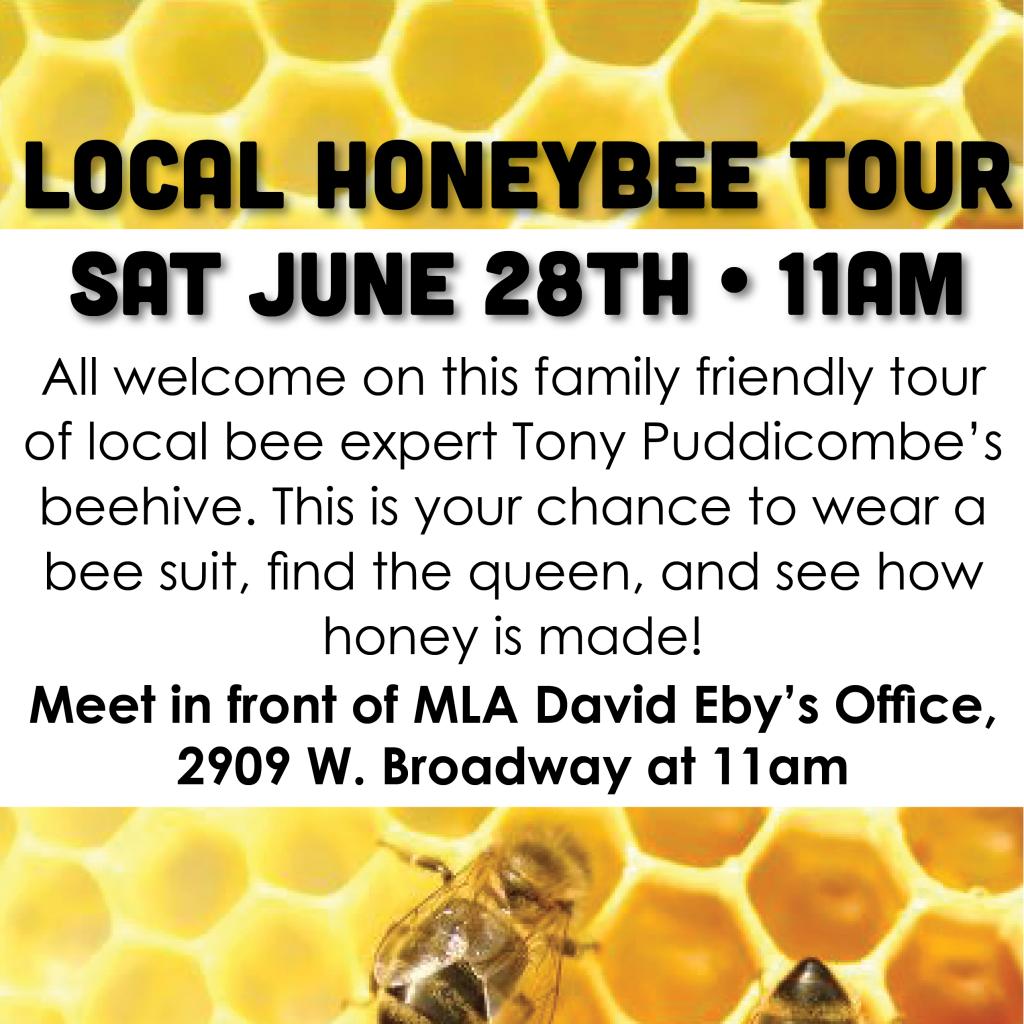 Honeybee Tour poster