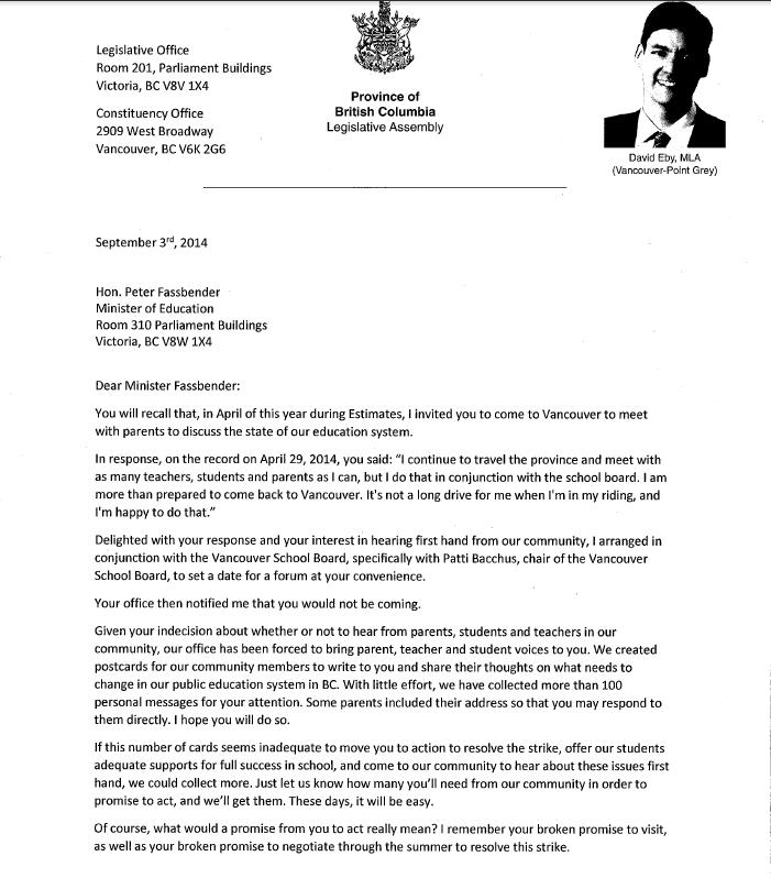 Fassbender Letter page1