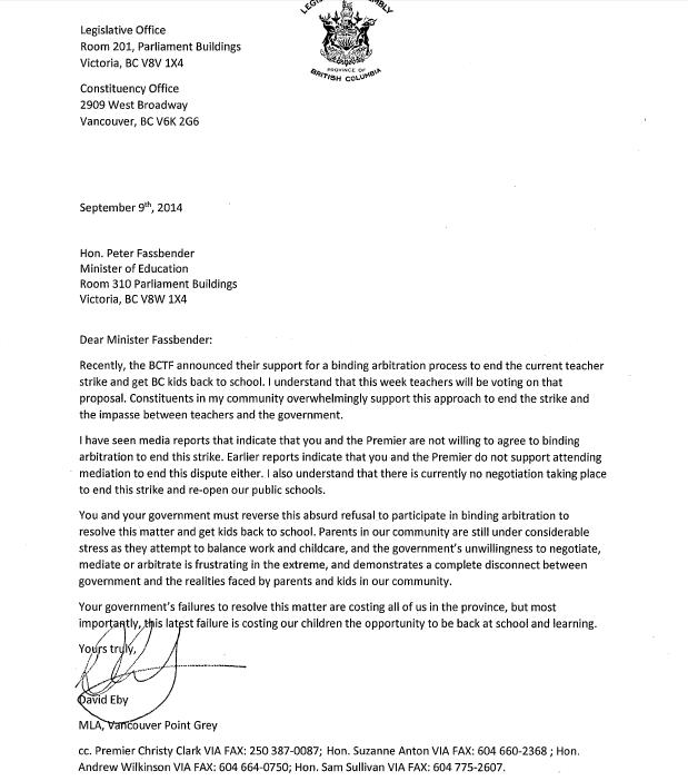 Letter to Fassbender Sept 9