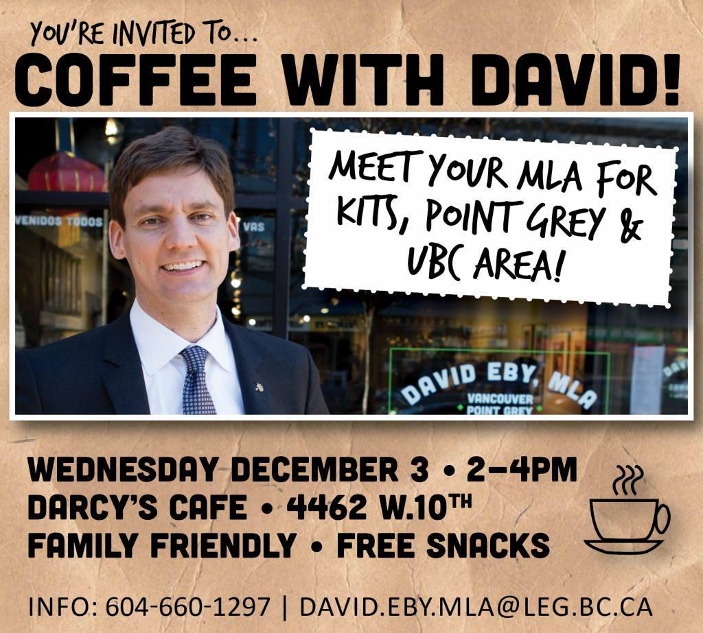 Coffee with David Wednesday December 3rd try 2