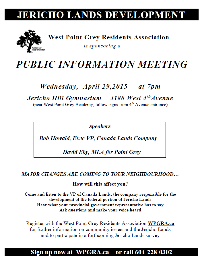 Jericho Lands Meeting April 29 2015