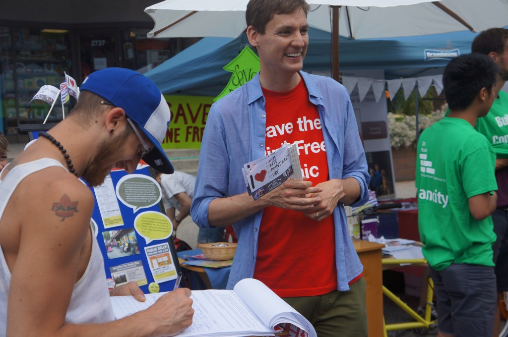 David Eby at Khatsahlano Festival 2014