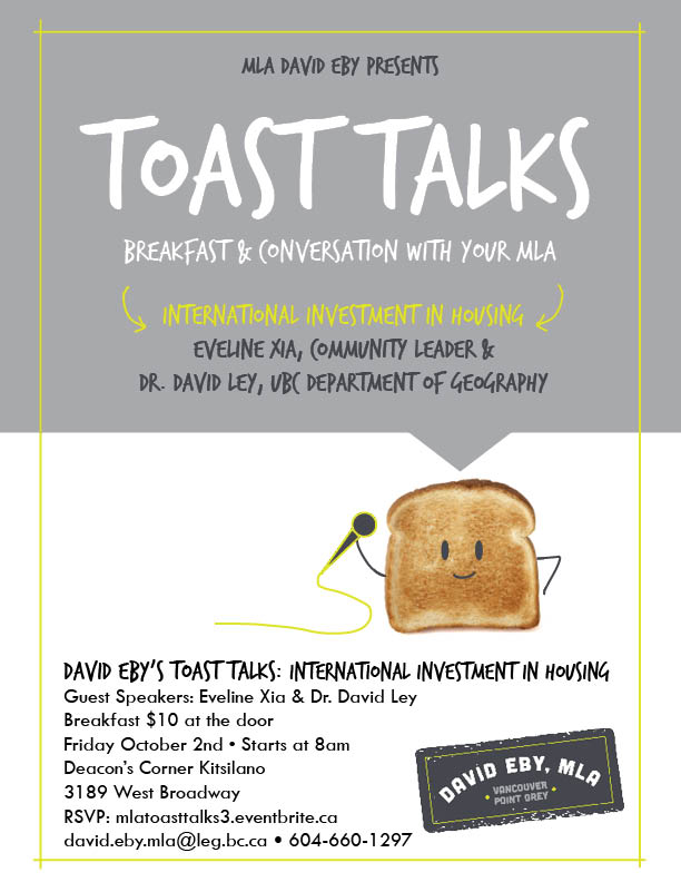 Toast Talks Housing Poster revised